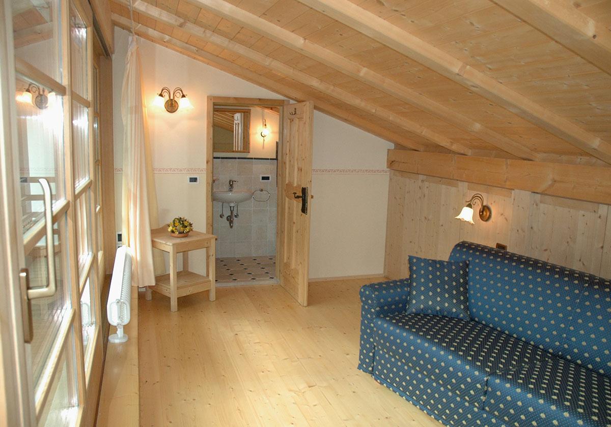 appartamenti a ortisei in alto adige - vacanza da sogno in val gardena - Soggiorno Stile Tirolese